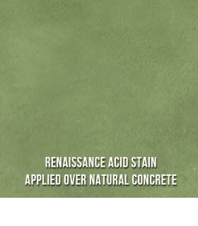 Concrete Acid Stain - Emerald Green