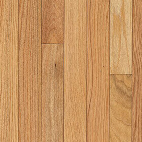 Solid Hardwood - Oak - Country Natural